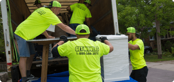 getmovers top class moving company in richmond hill on