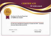 get movers achievement certificate